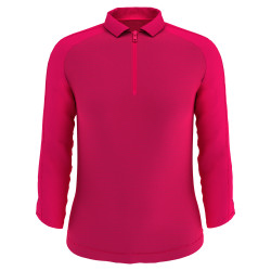 Callaway Golf- Ladies 3/4 Sleeve Shadow Stripe Polo