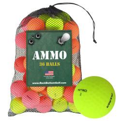 Nitro Pulsar Mint Recycled Used Golf Balls [36-Ball]