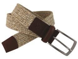 Greg Norman Golf- Heather Braided Stretch Belt