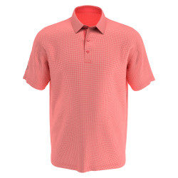 Callaway Golf- Big & Tall Printed Gingham Polo