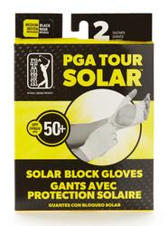 PGA Tour Golf- UPF50 Solar Gloves (1 Pair)