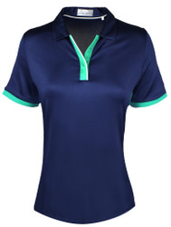 Callaway Golf- Ladies Swing Tech Color Block Polo