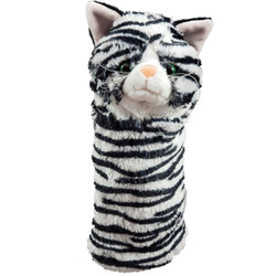 Daphne's Headcovers- Black & White Cat Hybrid Headcover