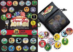Vegas Golf All-In Edition Game 26 Chip w/ Tee Bag