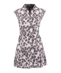 IBKUL Golf- Ladies Leopard Sleeveless Polo Dress