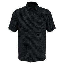 Callaway Golf- Big & Tall Allover Chevron Short Sleeve Polo