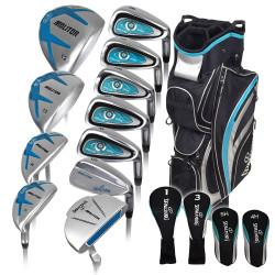 Spalding Golf- Ladies Spalding Molitor 17 Piece Complete Set With Bag