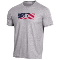 Under Armour Golf Bi-Blend Short Sleeve T-Shirt (Red, White & Blue Collection)
