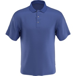 PGA Tour Golf- Short Sleeve AirFlux Solid Polo