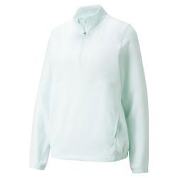 Puma Golf- Ladies Cloudspun 1/4 Zip Pullover