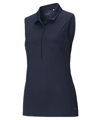 Puma Golf- Ladies Rotation Sleeveless Polo