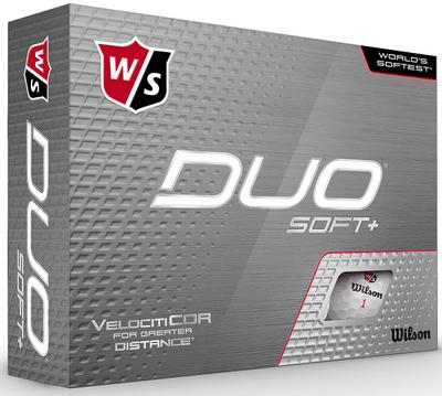 Wilson Staff Duo Soft+ Golf Balls Plus 2-Ball Pack