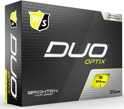 Wilson Staff Duo Optix Golf Balls Plus 2-Ball Pack
