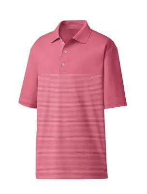 FootJoy Golf- Lisle Engineered Pin Stripe Polo