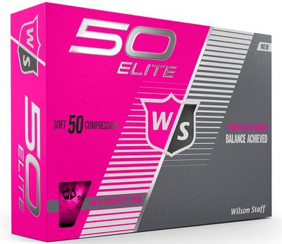Wilson Staff Ladies Fifty Elite Golf Balls LOGO ONLY