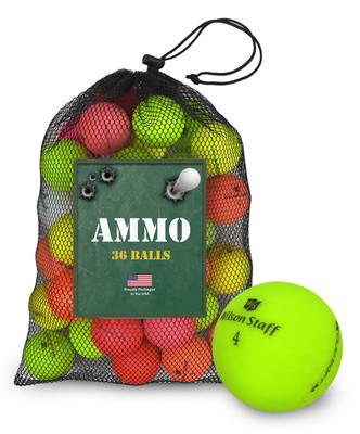Wilson Staff Mix Fair Used Recycled Golf Balls [36-Ball]