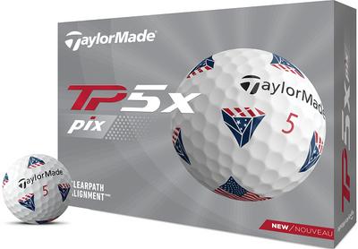 TaylorMade TP5x pix USA Golf Balls