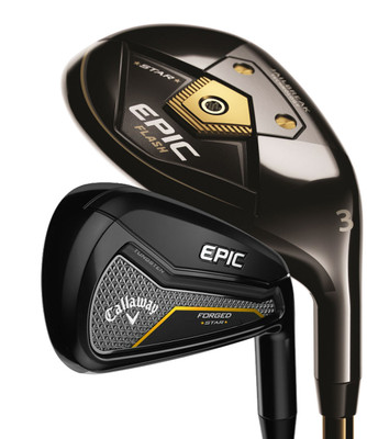 Pre-Owned Callaway Golf Epic Forged Star Combo Irons (8 Club Set)