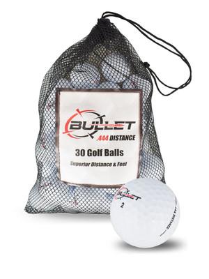 Bullet .444 Distance Golf Balls [30-Ball]