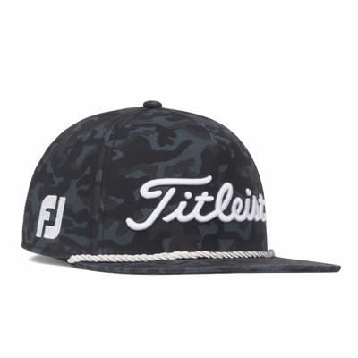 Titleist Golf- Black Camo Tour Cotton Rope Hat