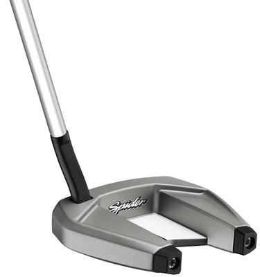 Pre-Owned TaylorMade Golf Spider SR Platinum/White Flow Neck Putter