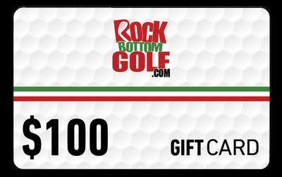 RockBottomGolf.com $100 Holiday Gift Card