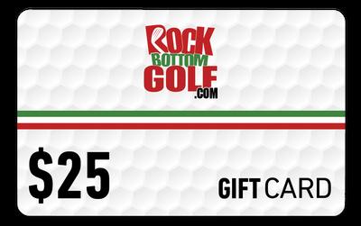 RockBottomGolf.com $25 Holiday Gift Card