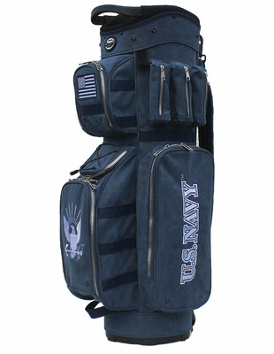 Hot-Z Golf Active Duty Cart Bag Navy