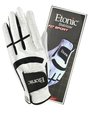 Etonic Golf- MLH Stabilizer™ F1T Sport Glove White/Black