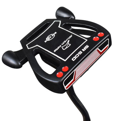 Ray Cook Golf- LH Silver Ray SR500 Putter (Left-Handed)
