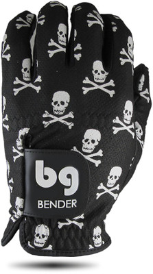 Bender Gloves- MLH Mesh Glove Crossbones Skulls