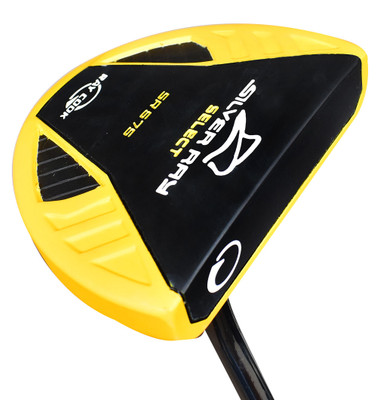 Ray Cook Golf- Silver Ray Select SR575 Yellow Putter