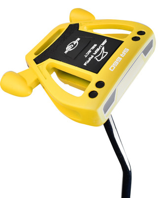 Ray Cook Golf- LH Silver Ray Select SR550 Yellow Putter (Left Handed)