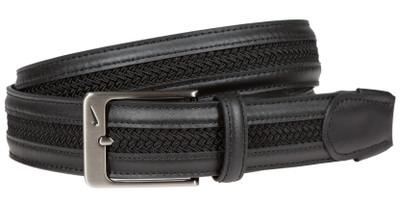 Nike Golf TW Leather Woven G-Flex Belt