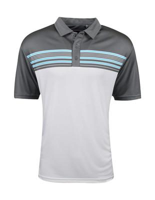 Etonic Golf- Engineered Chest Stripe Polo