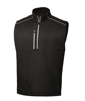 FootJoy Golf- Quarter Zip Heather Blocked Vest