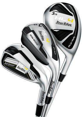 Tour Edge Golf- Ladies Hot Launch HL4 Triple Combo Irons (7 Club Set)