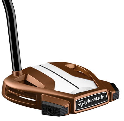 Pre-Owned Taylormade Golf Spider X Copper/White Single Bend W/Sightline Putter