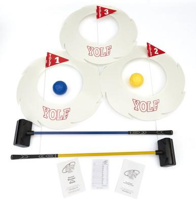 Yolf Golf- 3 Hole Starter Set