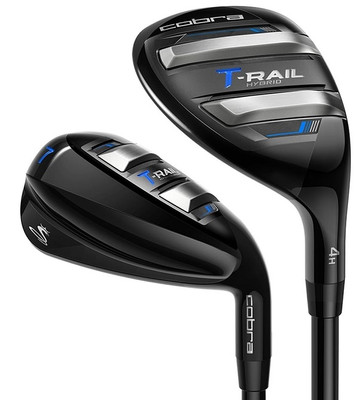 Cobra Golf T-Rail Combo Irons (7 Club Set) Graphite