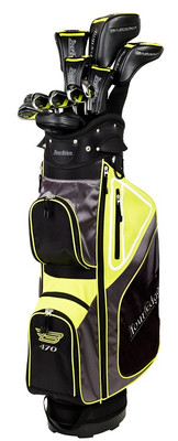 Tour Edge Golf- Bazooka 470 Black Complete Set With Bag Graphite