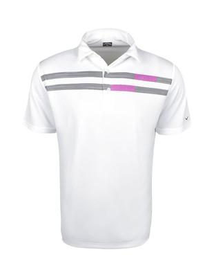 Callaway Golf- Linear Space Dye Polo