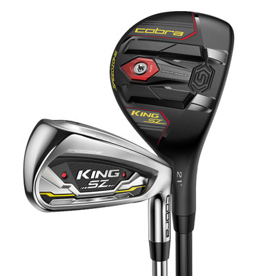 Cobra Golf- King SpeedZone Combo Irons (7 Club Set) Graphite
