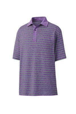 FootJoy Golf- Previous Season Style Heather Lisle Stripe Polo