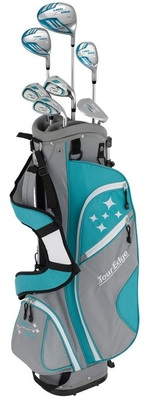 Tour Edge Golf- LH Lady Edge Starter Set With Stand Bag (Left Handed)