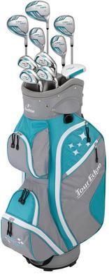 Tour Edge Golf- LH Lady Edge Full Set With Cart Bag (Left Handed)