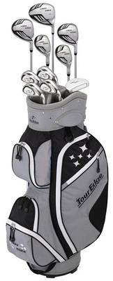 Tour Edge Golf- Lady Edge Full Set With Cart Bag
