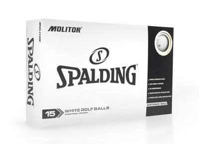 Spalding Molitor Golf Balls [15-Ball]