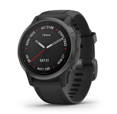 Garmin Golf- Fenix 6S Sapphire Edition GPS Watch
