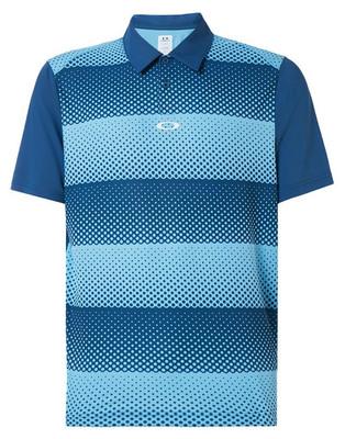 Oakley Golf- Dot Stripes Polo